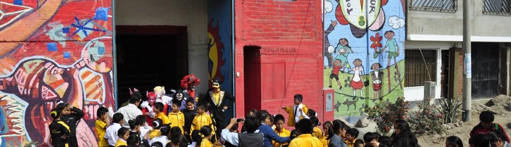 Vichama Teatro, centro cultural, Villa El Salvador